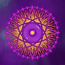 ósholo, violet dawn by peter barreda