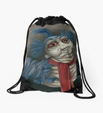 Labyrinth Worm - Oil Painting  Drawstring Bag