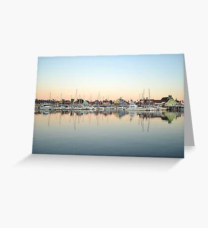 Marina Village Greeting Card