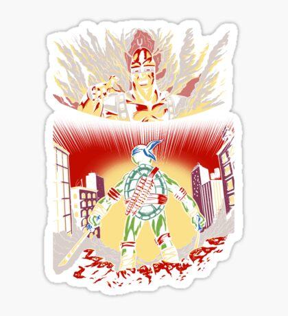 Attack on Krang Sticker