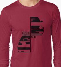vw golf, golf gti mk2 Long Sleeve T-Shirt