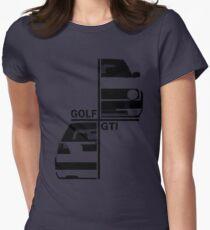 vw golf, golf gti mk2 Womens Fitted T-Shirt
