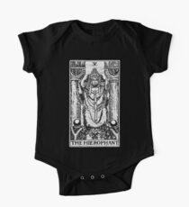 The Hierophant Tarot Card - Major Arcana - fortune telling - occult One Piece - Short Sleeve