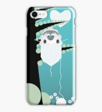 sheep on tree iPhone Case/Skin