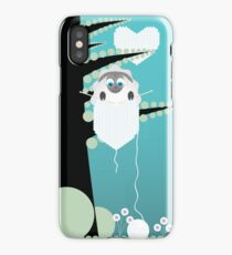 sheep on tree iPhone Case/Skin