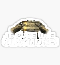Claymore Sticker
