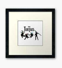 Teenage Mutant Ninja Beatles Framed Print