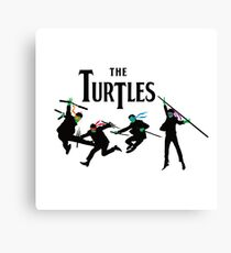 Teenage Mutant Ninja Beatles Canvas Print