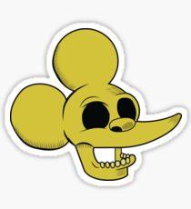 Itchy Show Sticker