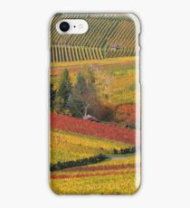 Vineyard Landscape #1 iPhone Case/Skin