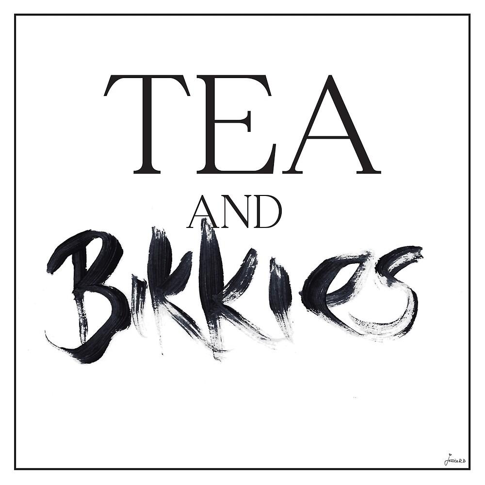 Tea and Bikkies by Jessica Rooney Deane