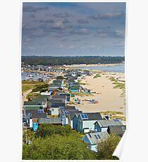 Mudeford sand spit Dorset Poster