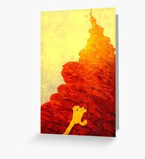 The forever climb ... Greeting Card