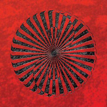 yin yang in stone (zahyíng) by peterbarreda
