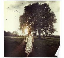 la fille et l'arbre Poster