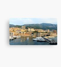 Morning in Monte Carlo Canvas Print