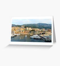Morning in Monte Carlo Greeting Card