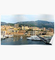Morning in Monte Carlo Poster
