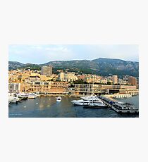 Morning in Monte Carlo Photographic Print