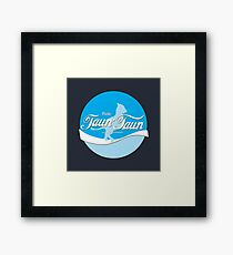 Ride TaunTaun Framed Print