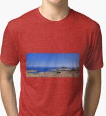 Lindos Panorama Tri-blend T-Shirt
