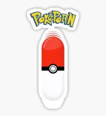 Poképorn - Pokédildo T Sticker