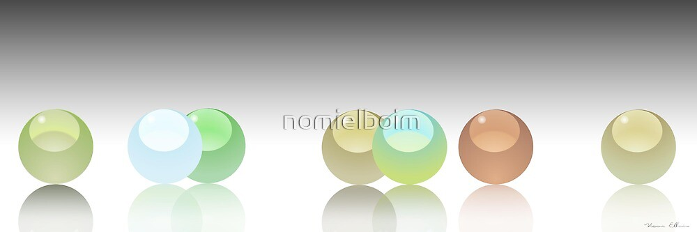 Marbles of the ocean by nomielboim