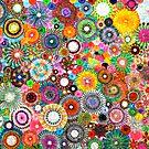 Childhood Dreams -filtered Spirograph Art by RachelEDesigns