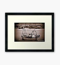 Fishing Vessel Quest. Framed Print