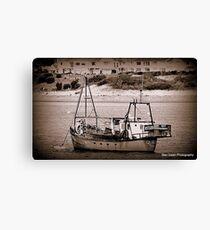 Fishing Vessel Quest. Canvas Print