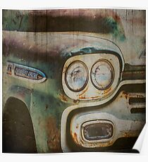 Vintage Chevrolet Apache Truck Poster