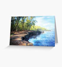 Kaloli Point, Hawai'i Greeting Card