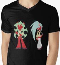 Simplistic Scanty & Kneesocks Men's V-Neck T-Shirt
