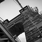 Roebling Suspension Bridge by Jeanne Sheridan