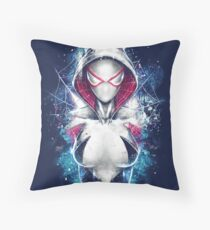 Epic Girl Spider Throw Pillow