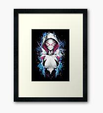 Epic Girl Spider Framed Print