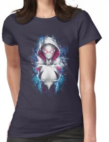 Epic Girl Spider Womens Fitted T-Shirt