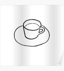Cup and Saucer Poster