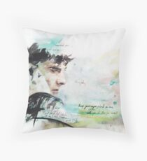 On the Roof Top Throw Pillow
