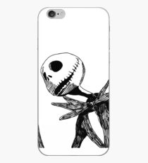 Jack - The nightmare before christmass iPhone Case