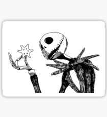 Jack - The nightmare before christmass Sticker