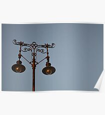 Wrought Iron Lamppost Poster