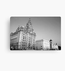 The three graces liverpool Canvas Print