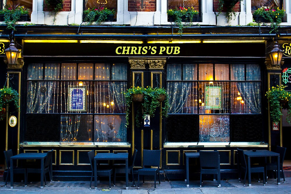 Chris's Pub by DavidHornchurch