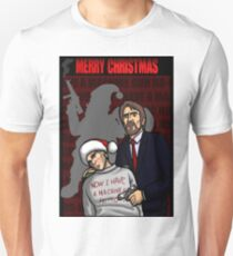 """Now I have a machine gun Ho-ho-ho"" Unisex T-Shirt"