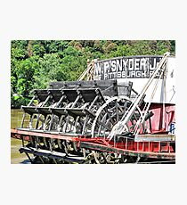 Rollin' on the River Photographic Print