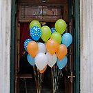 Balloons in a doorway by Rich51
