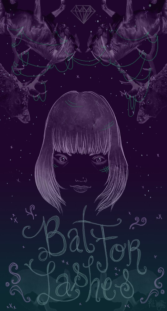 Bat for Lashes  by Seahorse Carousel