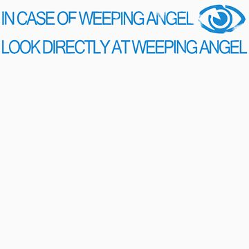In Case of Weeping Angel by veyda92