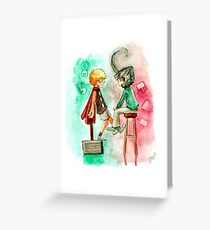 Little Asgard Greeting Card